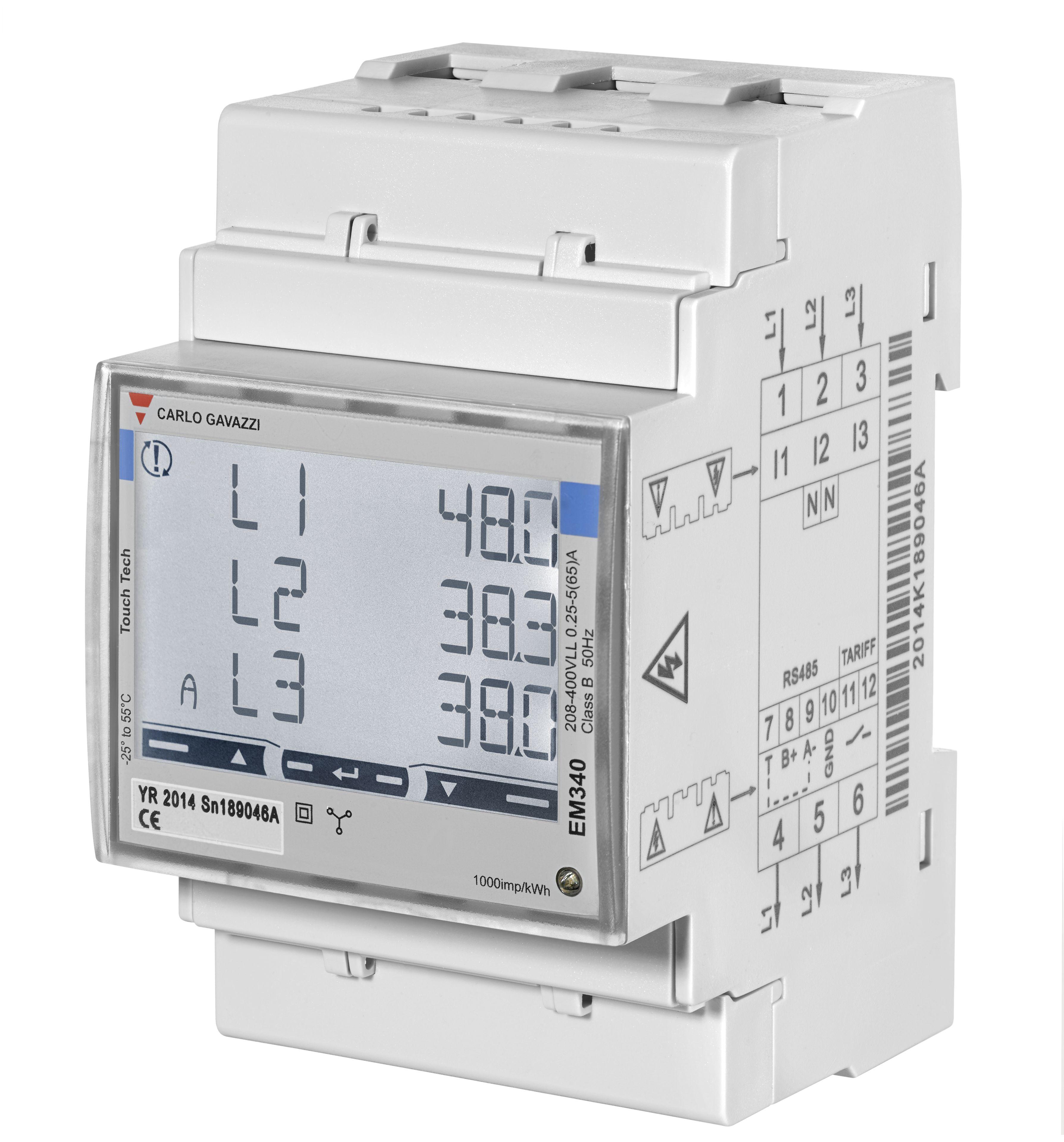 Energimätare 3-fas EM340