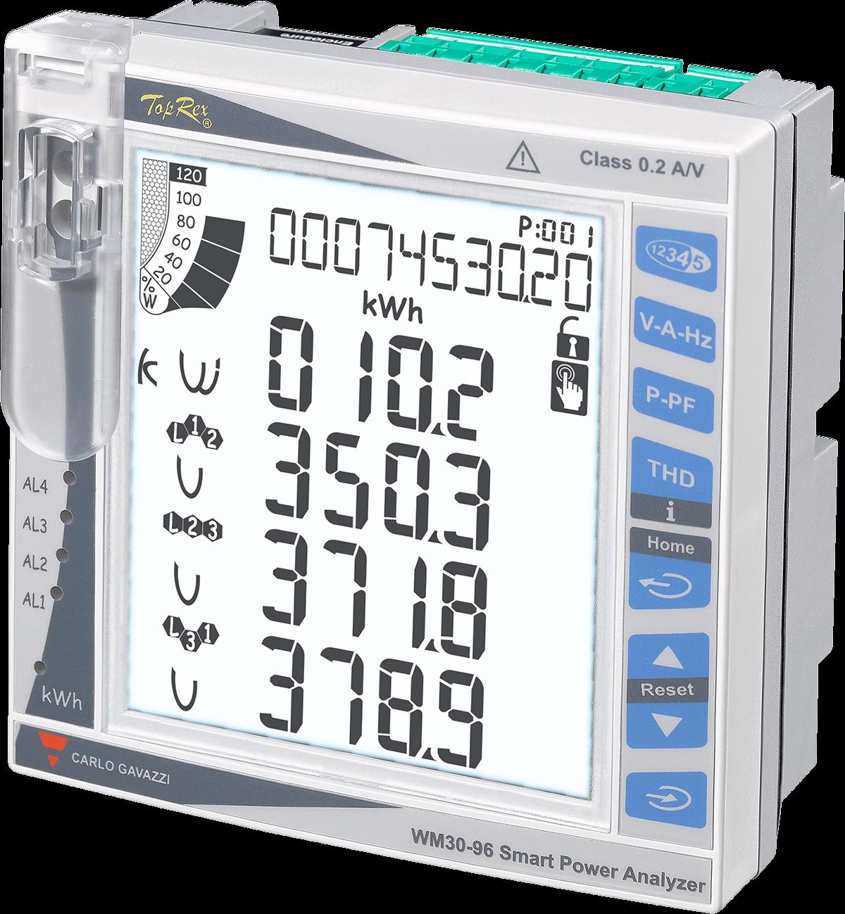 Nätanalysatorer WM30