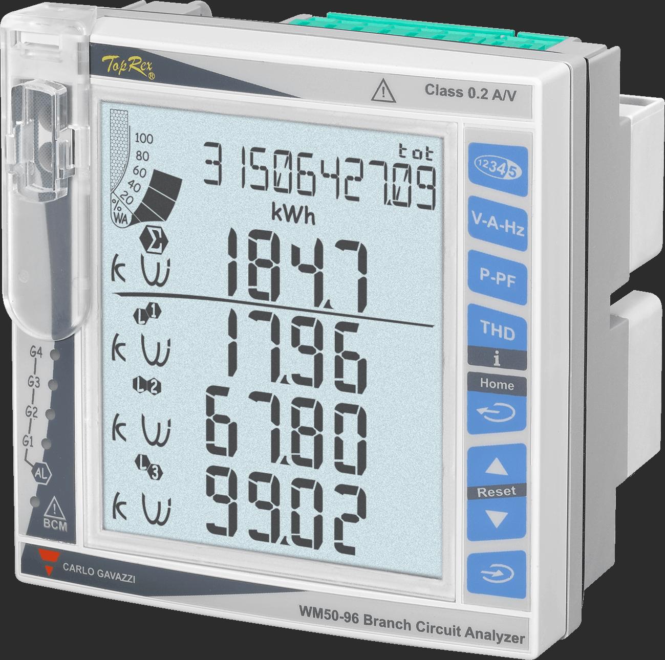 Nätanalysatorer WM50