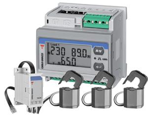 Energimätare med delbara strömtransformatorer