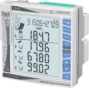Multi-instrument WM50PR för mätning på upp till 96 laster