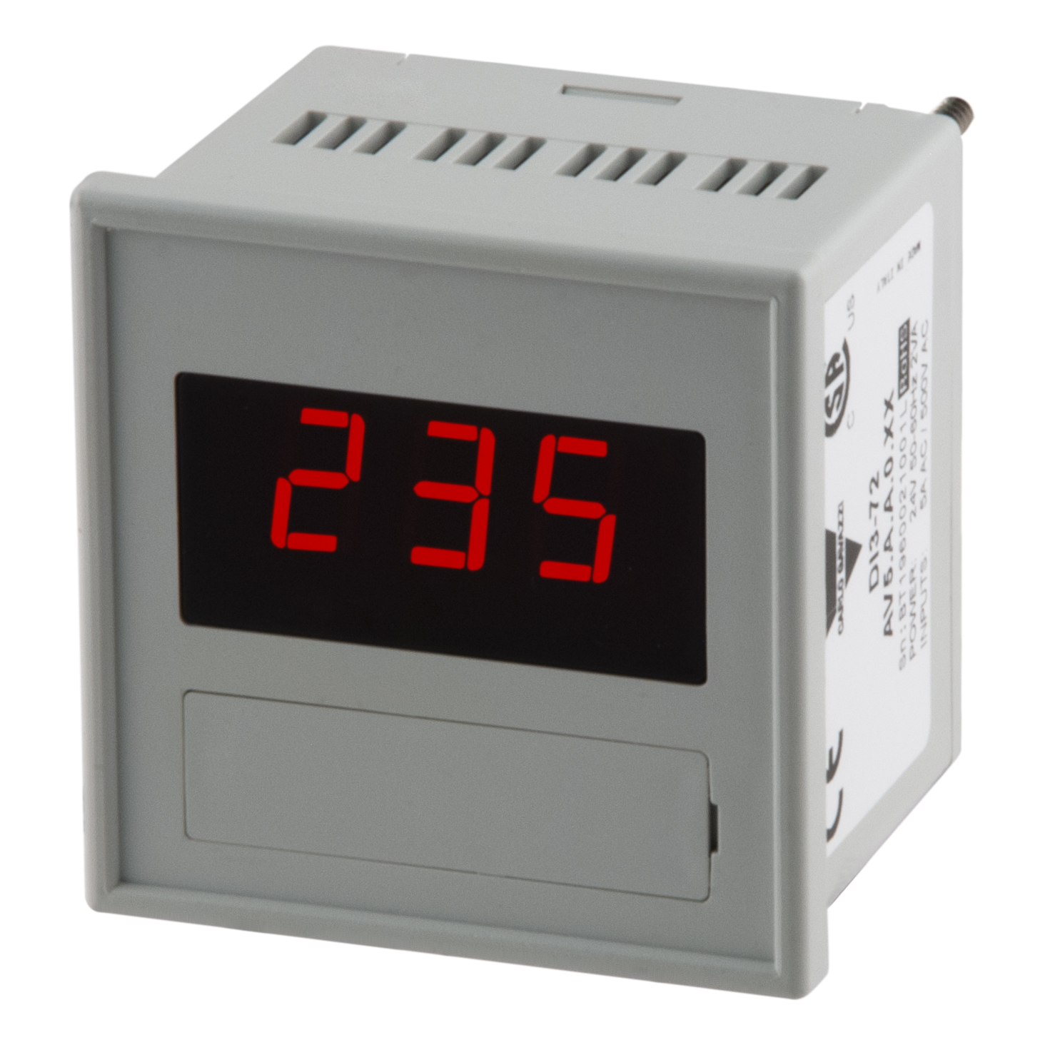 Digitala panelinstrument DI3 - 72