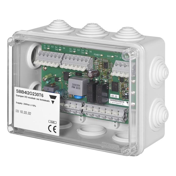 Interface brandspjäll SBB4I2O230T6