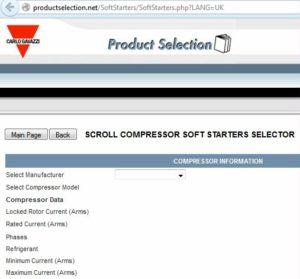 Mjukstartare för scrollkompressorer, guide